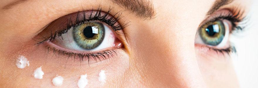Le bon soin des yeux